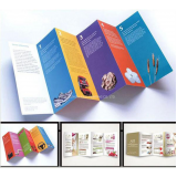 impressão de folhetos personalizados