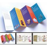 impressão de folhetos personalizados valor Alto da Lapa