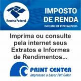 impressão de informe de rendimentos online Itabira
