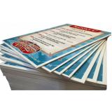 impressão offset em pvc cotar Jabaquara