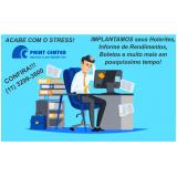 impressão online de cartão de ponto Paraíba