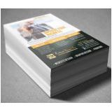 impressão panfleto em offset valor Vila Gumercindo