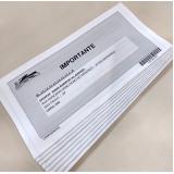 impressão para cartas personalizada Araçatuba