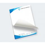 impressão personalizada de bloco de notas Parque Residencial da Lapa