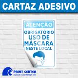 impressão personalizada de cartaz para covid cotar Santo André