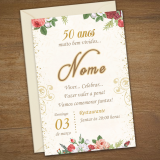 impressão personalizada de convites cotar Itabirito