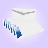 impressão personalizada de envelope itatiaia