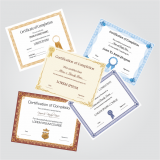 impressão personalizada para certificados cotar Sertãozinho