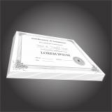 impressão personalizada para certificados valores inajar de souza