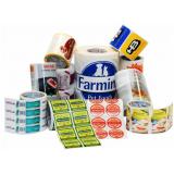 impressão rótulo para embalagem cotação Vila Bandeirantes