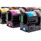 impressão a laser colorida