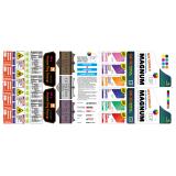 impressão offset flexografia