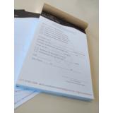 impressão personalizada de bloco de notas