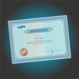 impressão personalizada de certificado