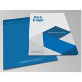 impressão personalizada de envelope com logo