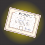 impressão personalizada para certificados