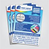 imprimir panfleto frente e verso Valinhos