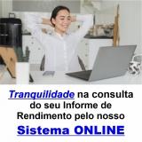informe de rendimento online Liberdade