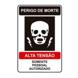 loja de etiqueta adesiva advertência Avenida Nossa Senhora do Sabará