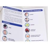 loja de impressão personalizada de cartaz para covid Água Funda