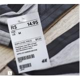 onde comprar etiquetas de código de barras para roupa Pedreira