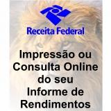 onde faz impressão de irrf online Itapecerica da Serra