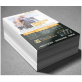 panfletos impressão valor Parque Novo Mundo