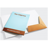 pasta de papel personalizada cotar Vila Bandeirantes