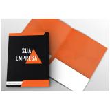 pasta de papel personalizada preço Vila Costa Melo