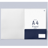 pasta de papel personalizada