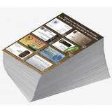 preço de impressão de folhetos personalizados Jardim Celeste