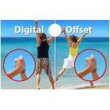 preço de impressão offset digital Alto de Pinheiros