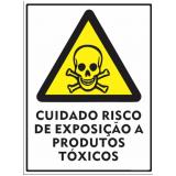 qual o valor de etiqueta adesiva advertência Mairinque