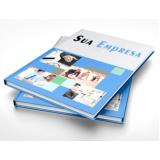 quanto custa impressão catálogo de produtos de empresas Vila Alexandria