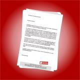 valor de impressão de cartas no atacado Vila Esperança