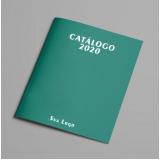 valor de impressão de catálogos e revistas Vila Azevedo