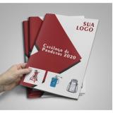 valor de impressão de catálogos empresas Marsilac