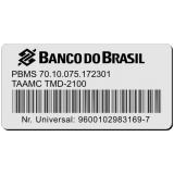 venda de etiquetas com código de barras Pedreira