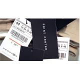 venda de etiquetas de código de barras para roupa Espírito Santo