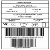 venda de etiquetas para roupas com código de barras Vila Domitila
